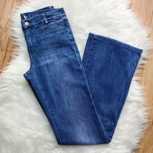 MiH Marrakesh Flared Jeans in Sugar Blue 26